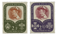 Luxembourg 1957 - Mint - Michel 567-68