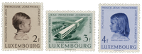 Luxembourg 1957 - Mint - Michel 569-71
