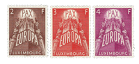 Luxembourg 1957 - Mint - Michel 572-74
