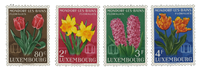 Luxembourg 1954 - Mint - Michel 531-34