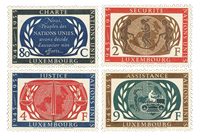 Luxembourg 1955 - Mint - Michel 537-40
