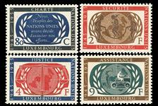 Luxemborg 1955 - Postfrisk - Michel 537-40