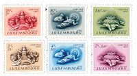 Luxembourg 1955 - Mint - Michel 541-46