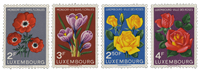 Luxembourg 1956 - Mint - Michel 547-59