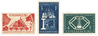 Luxembourg 1956 - Mint - Michel 552-54