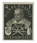 Luxembourg 1953 - Mint - Michel 516