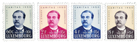 Luxembourg 1950 - Mint - Michel 474-77