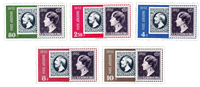 Luxembourg 1952 - Mint - Michel 490-94
