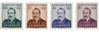 Luxembourg 1952 - Mint - Michel 501-04