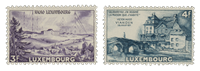 Luxembourg 1953 - Mint - Michel 512-13