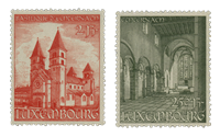 Luxembourg 1953 - Mint - Michel 514-15