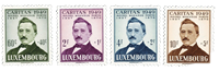 Luxembourg 1949 - Mint - Michel 464-67