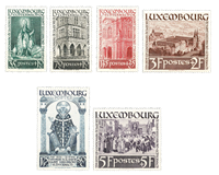 Luxembourg 1938 - Mint hinged - Michel 309-14