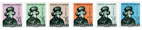 Luxembourg 1938 - Mint - Michel 315-20
