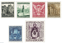 Luxembourg 1947 - Mint - Michel 417-22