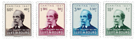 Luxembourg 1947 - Mint - Michel 427-30