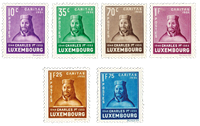 Luxembourg 1935 - Mint hinged - Michel 284-89