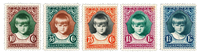 Luxembourg 1929 - Cancelled - Michel 213-16