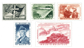 Belgien 1957 - OBP 1032-36 - Ubrugt