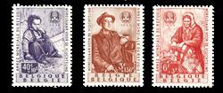 Belgien 1960 - OBP 1128-30 - Ubrugt