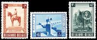 Belgium 1954 - OBP 938-40 - Unused
