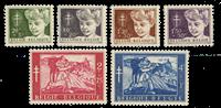 Belgium 1954 - OBP 955-60 - Unused