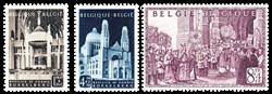 Belgien 1952 - OBP 876-78 - Ubrugt