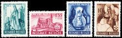 Belgien 1948 - OBP 777-80 - Ubrugt