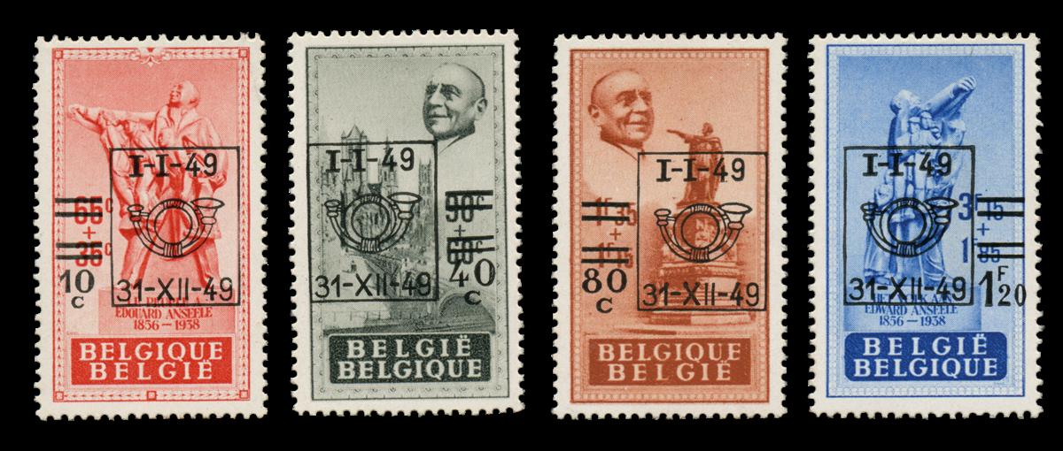 Belgien 1949 - OBP 803-06 - Postfrisk