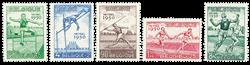 Belgien 1950 - OBP 827-31 - Ubrugt