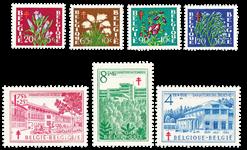 Belgien 1950 - OBP 834-40 - Ubrugt