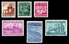 Belgien 1948 - OBP 767-72 - Ubrugt