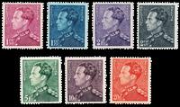 Belgien 1936 - OBP 429-35 - Ubrugt