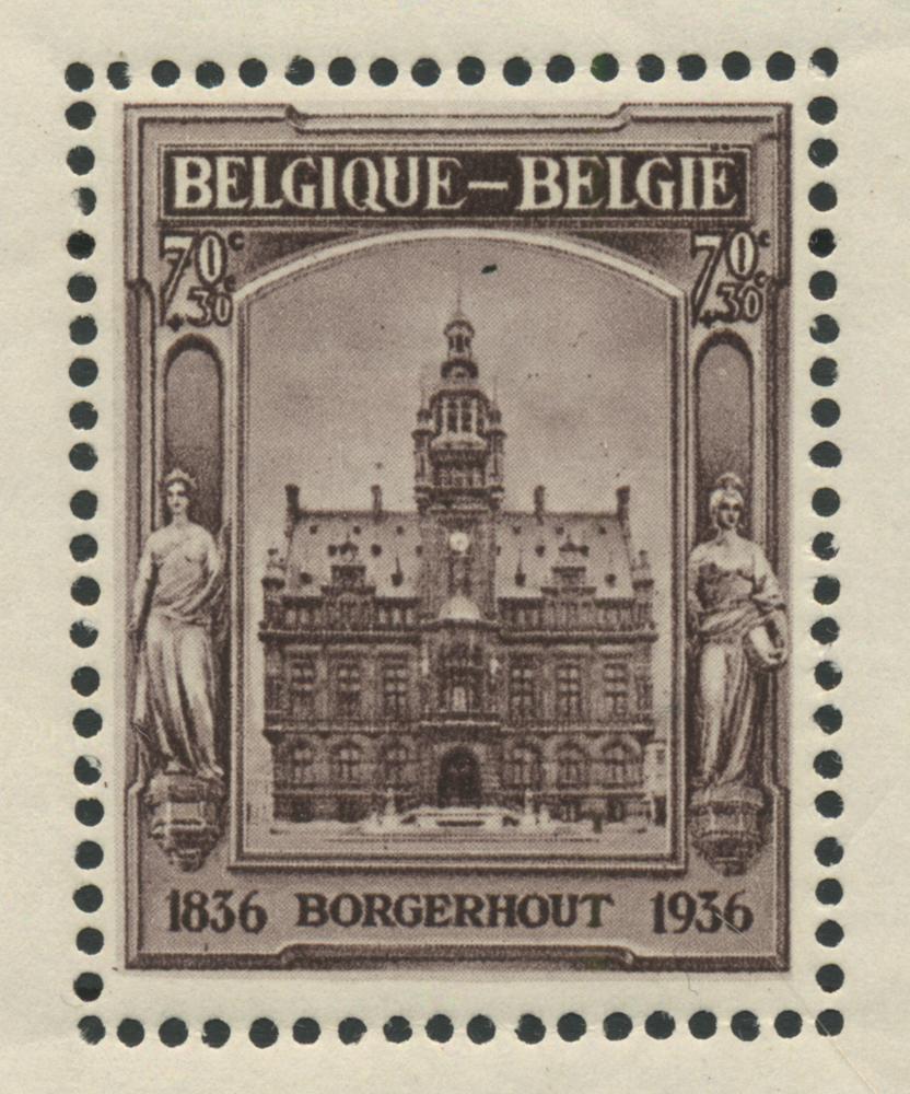 Belgien 1936 - OBP 436 - Postfrisk