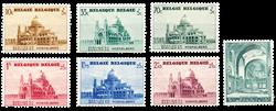 Belgien 1938 - OBP 471-77 - Ubrugt