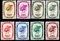 Belgium 1938 - OBP 488-95 - Unused