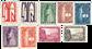 Belgien 1928 - OBP 258-66 - Ubrugt