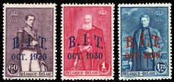 Belgien 1930 - OBP 305-07 - Ubrugt