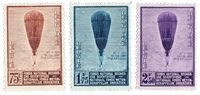 Belgien 1932 - OBP 353-55 - Ubrugt