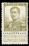 Belgien 1912 - OBP 112 - Ubrugt