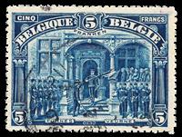 Belgium 1915 - OBP 147 - Cancelled