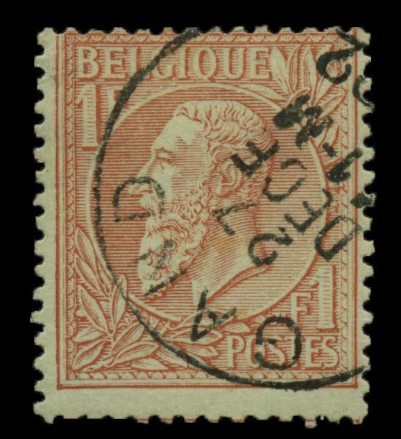 Belgien 1884 - OBP 51 - Stemplet