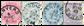Belgien 1883 - OBP 38-41 - Stemplet
