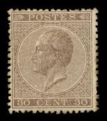 Belgium 1865 - OPB 19 - Unused