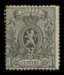 Belgien - OBP 23 - Ubrugt