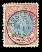 Netherlands 1893-1896 - NVPH 47 - Cancelled