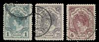 Netherlands 1899-1905 - NVPH 77-79 - Cancelled