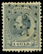 Netherlands 1872-1888 - NVPH 28 - Cancelled
