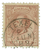 Netherlands 1872-1888 - NVPH 20 - Cancelled