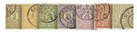 Netherlands 1884 - NVPH PW1-PW7 - Cancelled